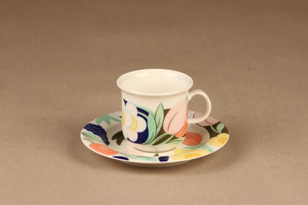 Arabia Arctica Poetica coffee cup designer Dorrit von Fieandt