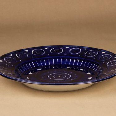 Arabia Valencia serving plate hand-painted designer Ulla Procope