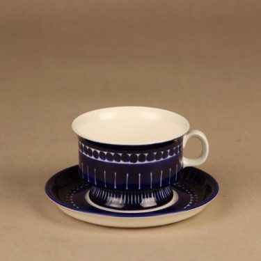 Arabia Valencia tea cup hand-painted designer Ulla Procope