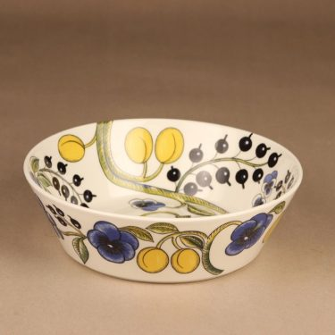 Arabia Paratiisi fruit bowl multicolor designer Birger Kaipiainen