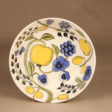 Arabia Paratiisi kulho, monivärinen, suunnittelija Birger Kaipiainen, hedelmä kuva 2