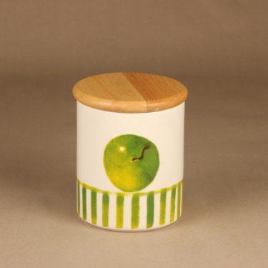 Arabia Omena purkki, kannellinen, suunnittelija Minna Immonen, kannellinen, sesonkituote kuva 2