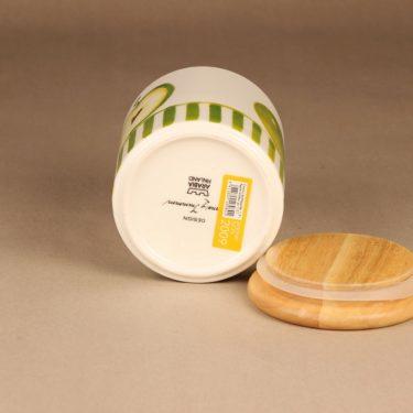 Arabia Omena purkki, kannellinen, suunnittelija Minna Immonen, kannellinen, sesonkituote kuva 4