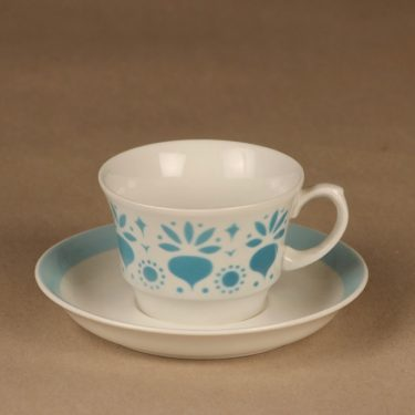 Arabia Retikka coffee cup blow decorative designer Hilkka-Liisa Ahola