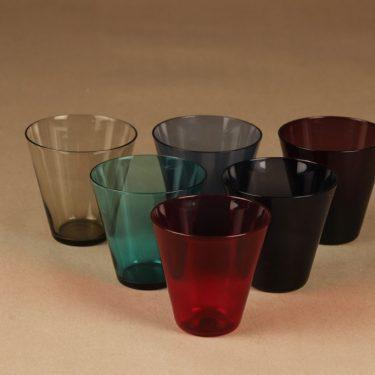 Nuutajärvi Kartio glass, 20 cl, 6 pcs designer Kaj Franck