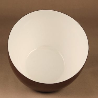 Finel enamel bowl brown designer Kaj Franck 2