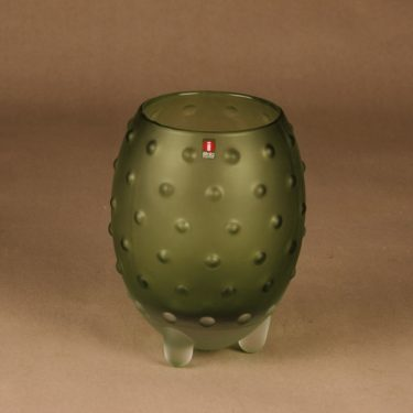 Iittala Major vase light green designer Tiina Nordström