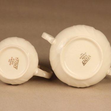 Arabia Raija sugar bowl and creamer designer Raija Uosikkinen 4