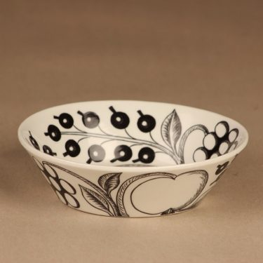 Arabia Paratiisi dessert bowl B/W designer Birger Kaipiainen 2