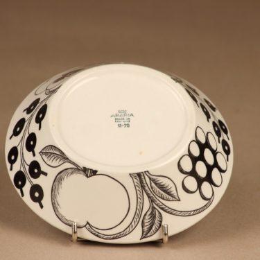 Arabia Paratiisi dessert bowl B/W designer Birger Kaipiainen 3