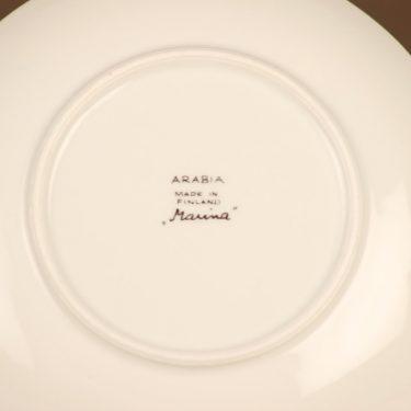 Arabia Marina leivoslautaset, sinivihreä, 6 kpl, suunnittelija Anja Jaatinen-Winquist, serikuva kuva 2
