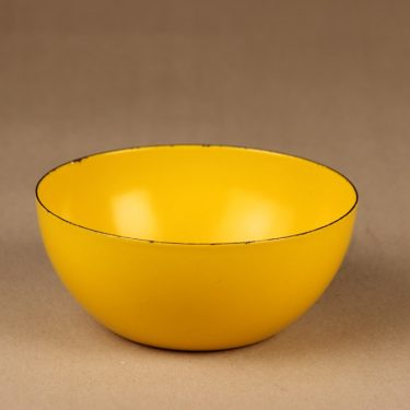 Finel bowl yellow small designer Kaj Franck