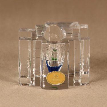 Riihimäen lasi Forest taidelasi, kirkas, suunnittelija Helena Tynell,