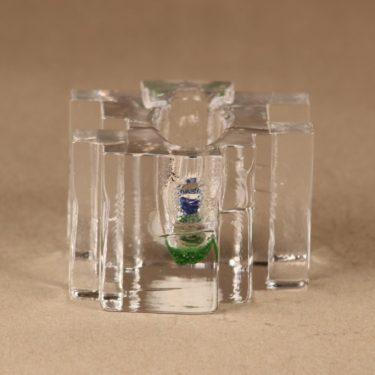 Riihimäen lasi Forest taidelasi, kirkas, suunnittelija Helena Tynell,  kuva 2