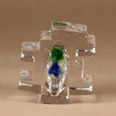 Riihimäen lasi Forest taidelasi, kirkas, suunnittelija Helena Tynell,  kuva 4
