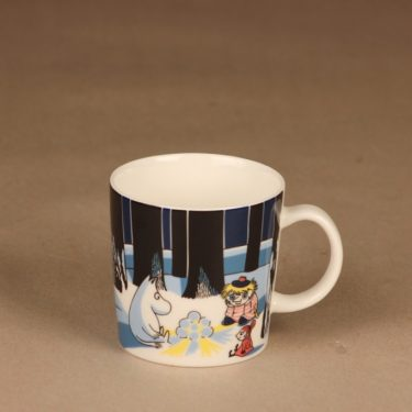 Arabia Teema moomin mug Christmas 2007 designer Tove Slotte-Elevant