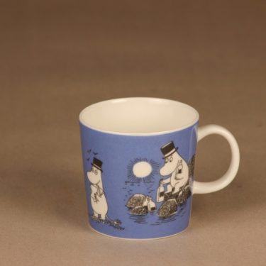 Arabia Moomin mug dark blue designer Tove Slotte-Elevant