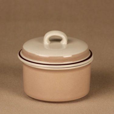 Arabia Koralli jar with lid designer Raija Uosikkinen