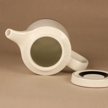 Arabia Faenza raita teekaadin, 1 l, suunnittelija Peter Winquist, 1 l, raitakoriste kuva 2