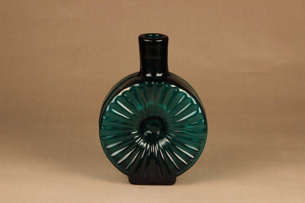 Riihimäen lasi Aurinkopullo koristepullo, erikoiserä, suunnittelija Helena Tynell, erikoiserä, suuri
