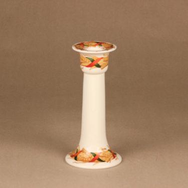 Arabia Santa Arctica kynttilänjalka, suunnittelija Inkeri Leivo, lyhde, joulu