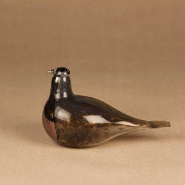Nuutajärvi bird Snipe Limited edition designer Oiva Toikka