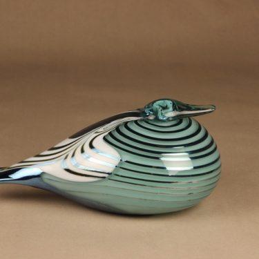Nuutajärvi lintu , erikoistilaus, suunnittelija Oiva Toikka, erikoistilaus, signeerattu kuva 3