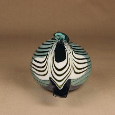 Nuutajärvi lintu , erikoistilaus, suunnittelija Oiva Toikka, erikoistilaus, signeerattu kuva 4