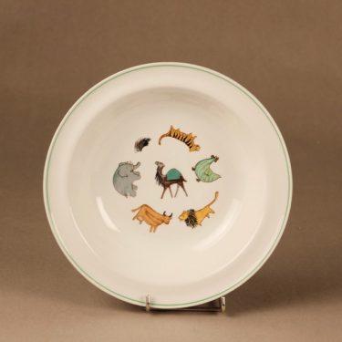 Arabia Zoo soup plate designer Anja Juurikkala