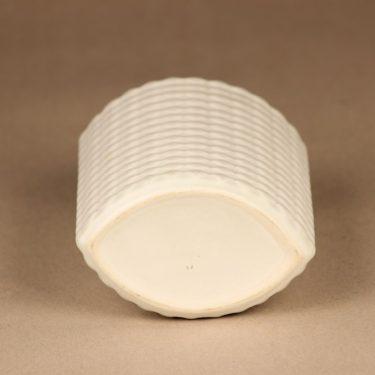 Arabia Harlekiini vase white designer Kaarina Aho 2