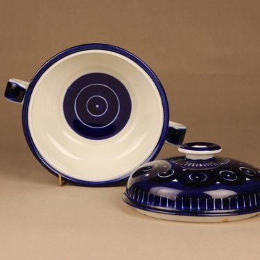 Arabia Valencia bowl with lid, hand-painted designer Ulla Procope 2