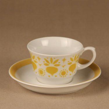 Arabia Retikka coffee cup, blow decorative designer Hilkka-Liisa Ahola