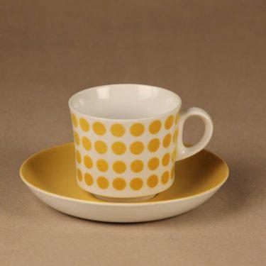 Arabia POP kahvikuppi, puhalluskoriste, suunnittelija , puhalluskoriste