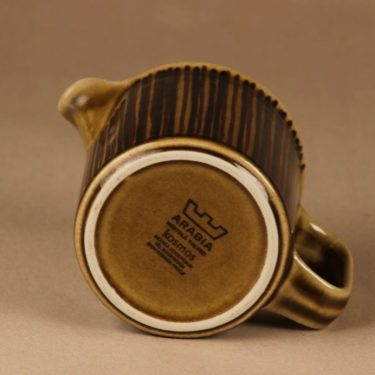 Arabia Kosmos kaadin, 0.5 l, suunnittelija Gunvor Olin-Grönqvist, 0.5 l, raidallinen kuva 2