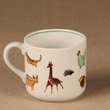 Arabia Zoo muki, suunnittelija Anja Juurikkala, eläin-aihe kuva 3