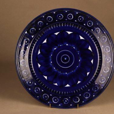 Arabia Valencia serving plate, hand-painted designer Ulla Procope
