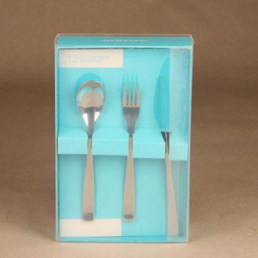 Hackman Swing dessertfork, -knife ja -spoon, 4+4+4