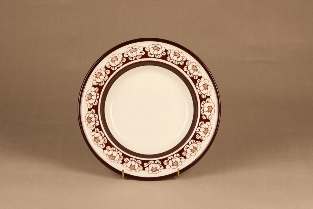 Arabia Katrilli lautanen, syvä, suunnittelija 4 kpl, syvä, kukka, lumme, serikuva