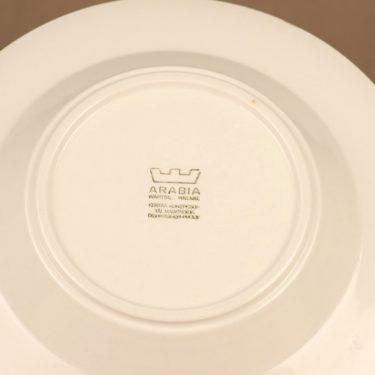 Arabia Katrilli lautanen, syvä, suunnittelija 4 kpl, syvä, kukka, lumme, serikuva kuva 3