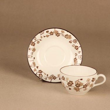 Rörstrand Japonica kahvikuppi, ruskea, suunnittelija Jackie Lynd,  kuva 2