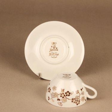 Rörstrand Japonica kahvikuppi, ruskea, suunnittelija Jackie Lynd,  kuva 3