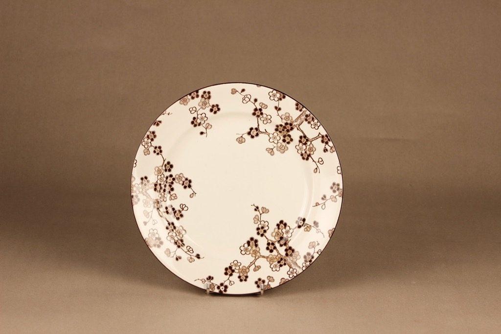Rörstrand Japonica lautanen, matala, suunnittelija Jackie Lynd, matala