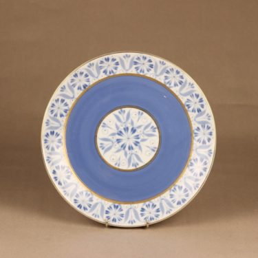 Arabia Sinikka serving plate, hand-painted