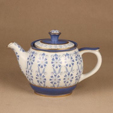 Arabia Sinikka coffee/teapot hand-painted