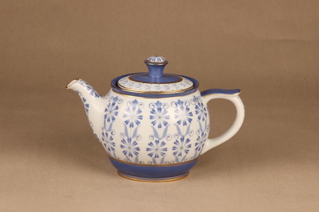 Arabia Sinikka coffee/teapot hand-painted
