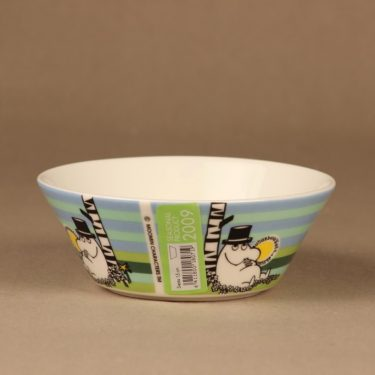 Arabia Moomin bowl Siesta 2009 designer Tove Slotte-Elevant