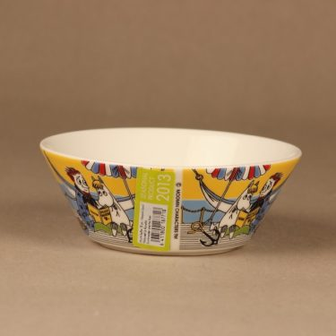 Arabia Moomin bowl Snorkmaiden and Poet 2013 designer Tove Slotte-Elevant