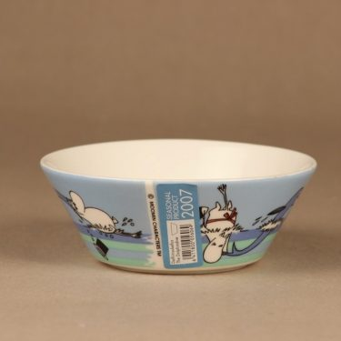Arabia Moomin bowl Dolphin Dive 2007 designer Tove Slotte-Elevant