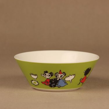 Arabia Moomin bowl Thingumy and Bob designer Tove Slotte-Elevant