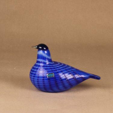Nuutajärvi bird Blue bird limited edition designer Oiva Toikka